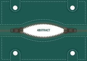 abstrakter Hintergrund mit Reißverschluss vektor