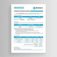 företagets online fakturamall