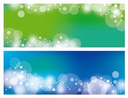 abstraktes Bokeh-Hintergrunddesign vektor