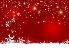 Weihnachtshintergrunddesign von Schneeflocken