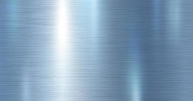 blaues metallisches Metall