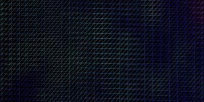 dunkelrosa, blaue Vektorschablone mit Linien.