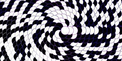 mörkrosa, blå vektorlayout med cirklar.