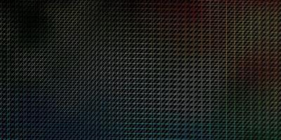 dunkelblaues, grünes Vektormuster mit Linien.