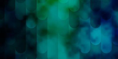 ljusblå, grön vektorbakgrund med linjer