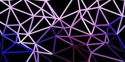 hellviolette Vektor Poly Dreieck Textur.