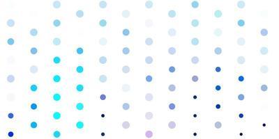 hellrosa, blauer Vektorhintergrund mit Blasen