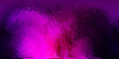dunkelviolettes, rosa Vektorgradienten-Polygonlayout.