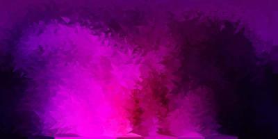 mörk lila, rosa vektor gradient polygon layout.