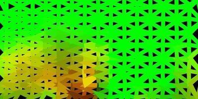 dunkles mehrfarbiges Vektorgradienten-Polygon-Layout.