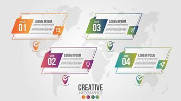 infographic modern tidslinje design vektor mall för företag