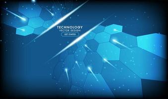 abstrakt teknik bakgrund högteknologisk kommunikation koncept vektor