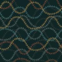 nahtloser Musterhintergrund mit Kiefernblättern