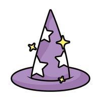 Hexenhut magische Zauberei-Ikone