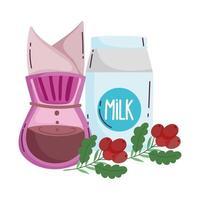 Kaffeezubereitungsmethoden, Tropfmaschine Milch und Getreide in der Branche