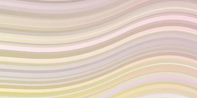 ljusorange vektormönster med sneda linjer. vektor