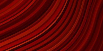 ljus orange vektor bakgrund med linjer.