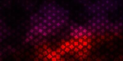 dunkelviolettes Vektormuster im quadratischen Stil.