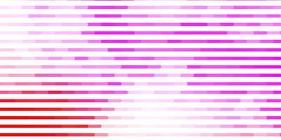 ljusrosa, gul vektorlayout med linjer.