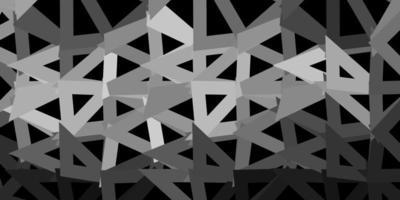 ljusgrå vektor poly triangel mall.
