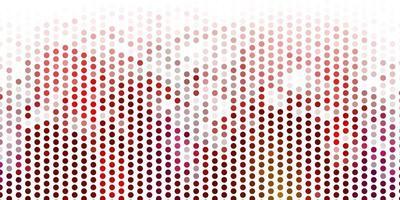 ljus flerfärgad vektorbakgrund med fläckar.