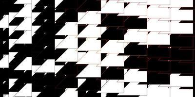 mörk orange vektor layout med linjer.