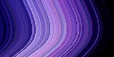 mörkrosa, blå vektorbakgrund med cirkulär båge
