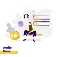 målsida illustration ljudbok
