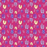 abstrakta sömlösa mönster vektor