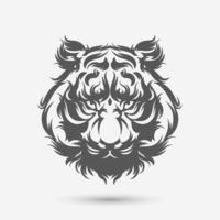 Tiger Head Art Pinsel