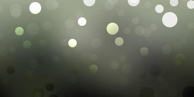 ljusgrå vektor bakgrund med bubblor.