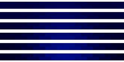 dunkelblaues Vektormuster mit Linien.