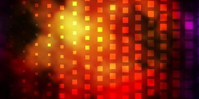 mörk flerfärgad vektorbakgrund med rektanglar. vektor