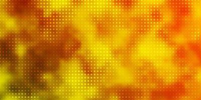 ljusgrönt, gult vektormönster med sfärer.