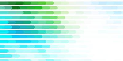 hellblauer, grüner Vektorhintergrund mit Linien.
