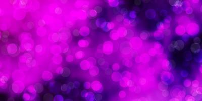 hellpurpurner, rosa Vektorhintergrund mit Flecken.