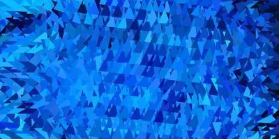 dunkelblaue Vektor Farbverlauf Polygon Tapete.