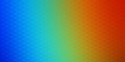 mörk flerfärgad vektormall i rektanglar. vektor