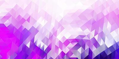 mörk lila vektor abstrakt triangel mönster.