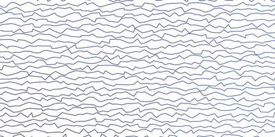 mörkblå vektorbakgrund med böjda linjer. vektor