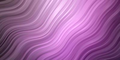 hellviolette Vektorschablone mit schiefen Linien.