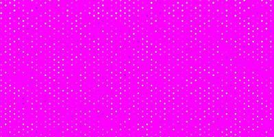 hellvioletter Vektorhintergrund mit Punkten.