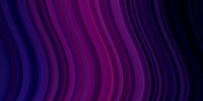 dunkelviolette, rosa Vektortextur mit schiefen Linien. vektor