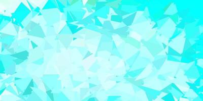ljusblå, grön vektor poly triangel konsistens.