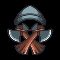 Mütze und Axt Woodman vektor