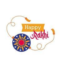 glad raksha bandhan blomma armband tillbehör och band ram platt stil