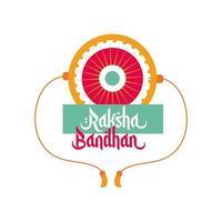 glad raksha bandhan blomma armband tillbehör platt stil
