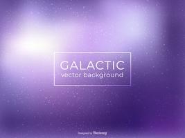 Ultravioletter galaktischer Hintergrund-Vektor