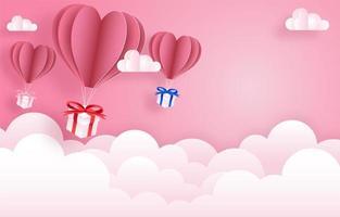 Happy Valentinstag Feier Banner vektor