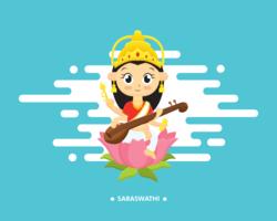 Saraswathi-Vektor